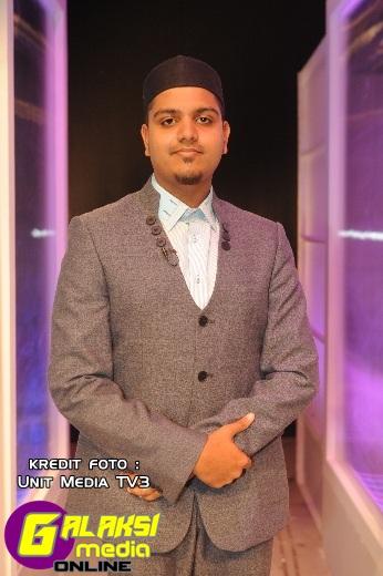 Finalis yang tersingkir minggu ini, Mohamad Shazwan Bin Zakaria