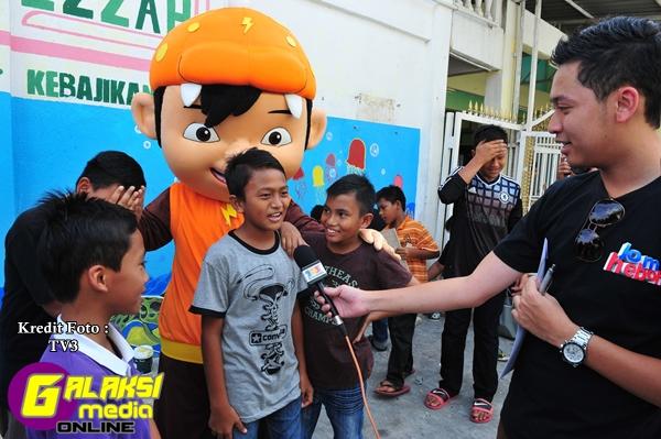 Anak-anak yatim Darul 'Izzah gembira dengan kunjungan TV3