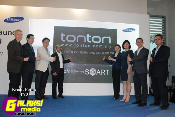 Aplikasi Tonton eksklusif di Samsung Smart TV