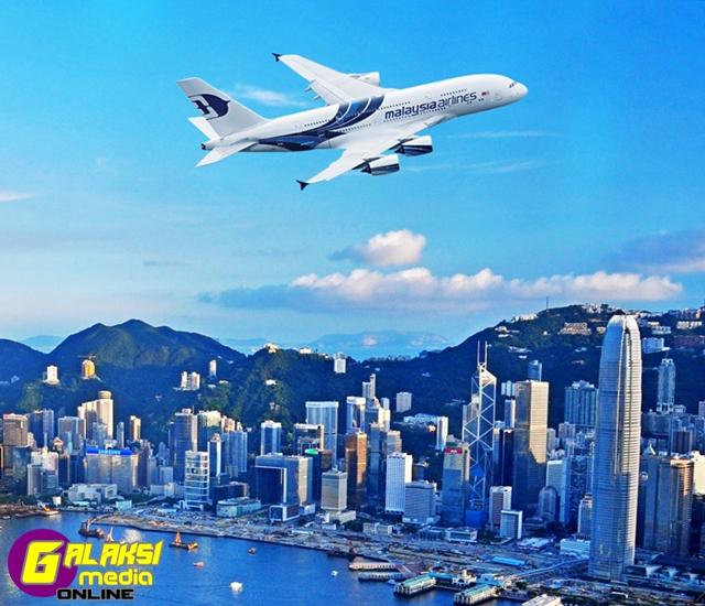 MAS A380 Hong Kong