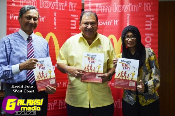 OCM and McDonald's bring Malaysians the annual Olympic Day Run once again