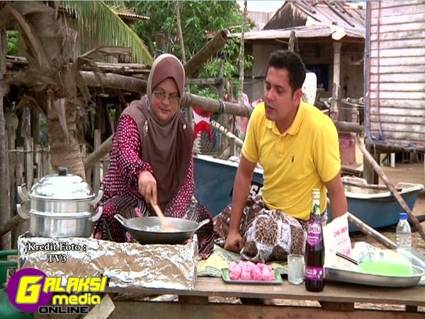 Moreh (1) Hos Danny Anwa berkongsi resipi kuih Semang ketika di Terengganu