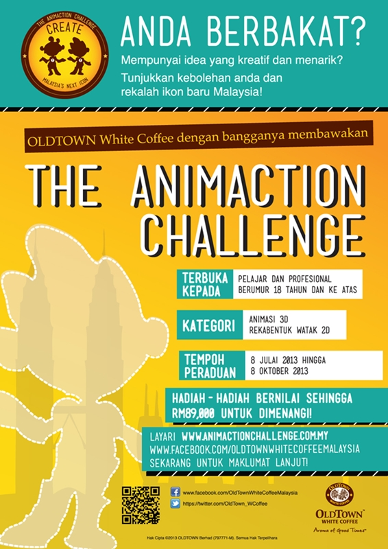 The Animaction Challenge - Poster (BM)small2