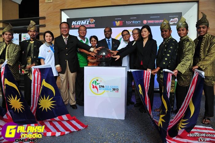 Gimik Pelancaran TV3 selaku Rakan Penyiar dan Tonton sebagai Rakan Digital Sukan SEA ke-27
