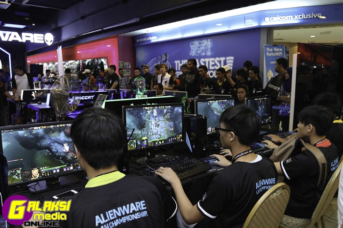 Image 5 - Malaysia's leading gamers battling it out at the Alienware tournament