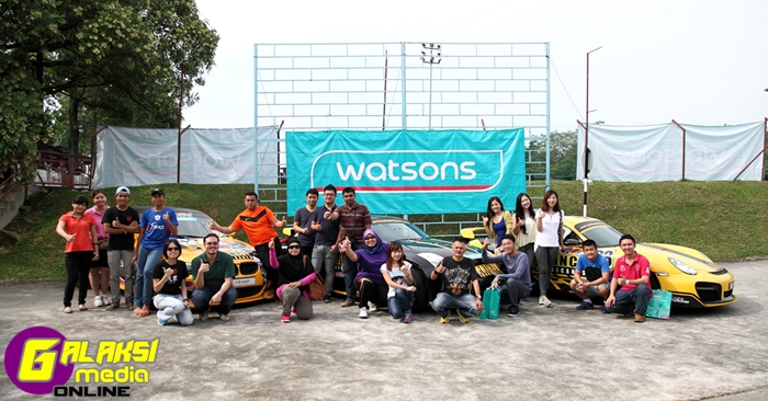 Watsons VIP members ready to take up the speed challenge