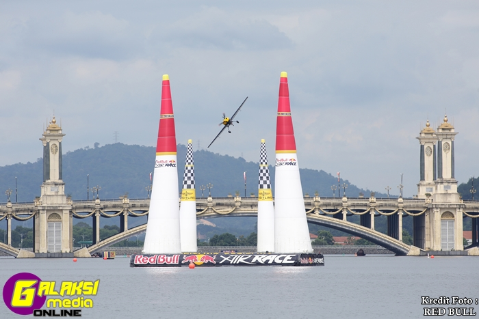 Pix of Halim Othman of Malaysia during the official training session at Red Bull Air Race 2014 on 16 May 2014.