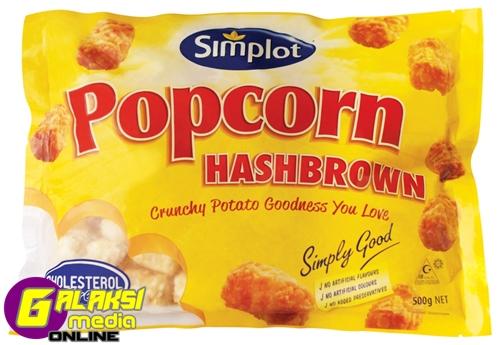 Simplot Popcorn Hashbrown 500g