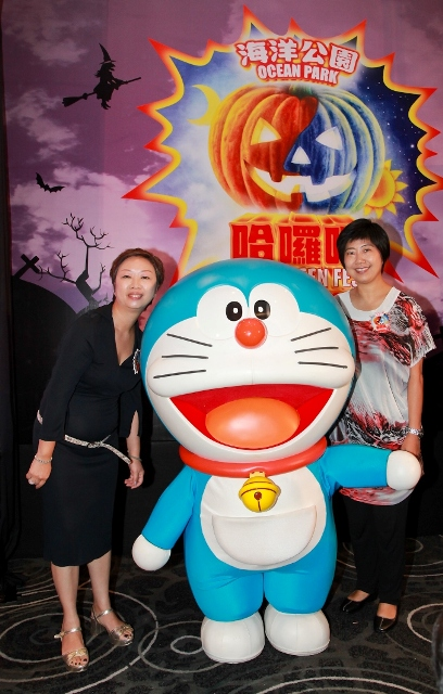 Pic 2 - Ocean Park is introducing the Doraemon Halloween Party, Asia_s first-ever Doraemon-themed Halloween attractionSMALL.