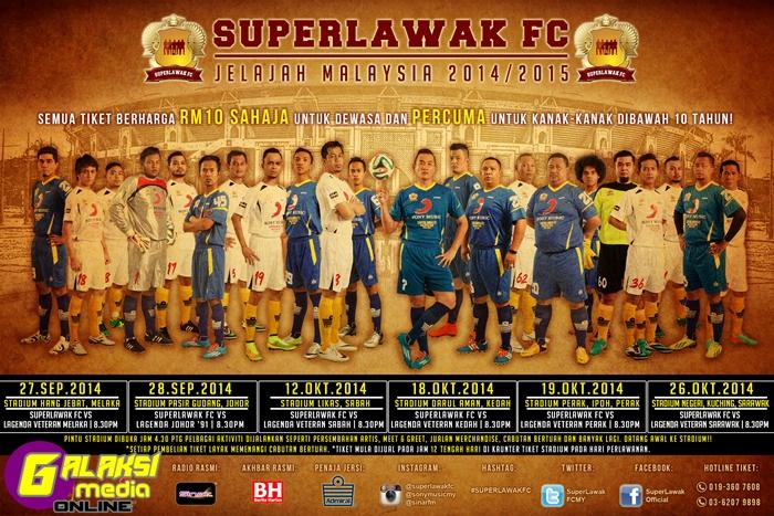 SUPER LAWAK FC 20X30 POSTER SIZE POSING X