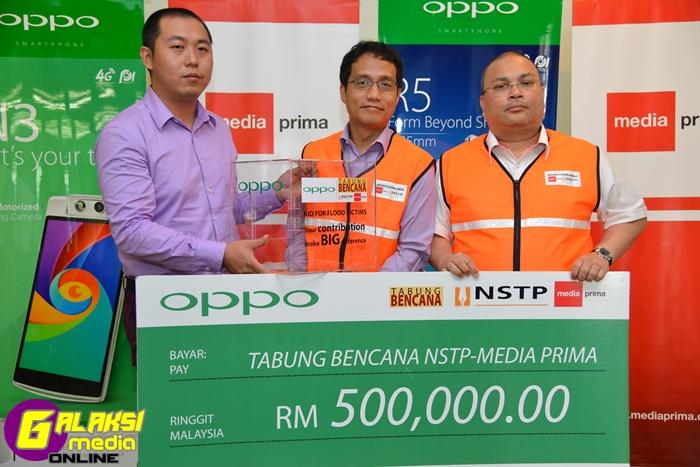 OPPO Malaysia donat