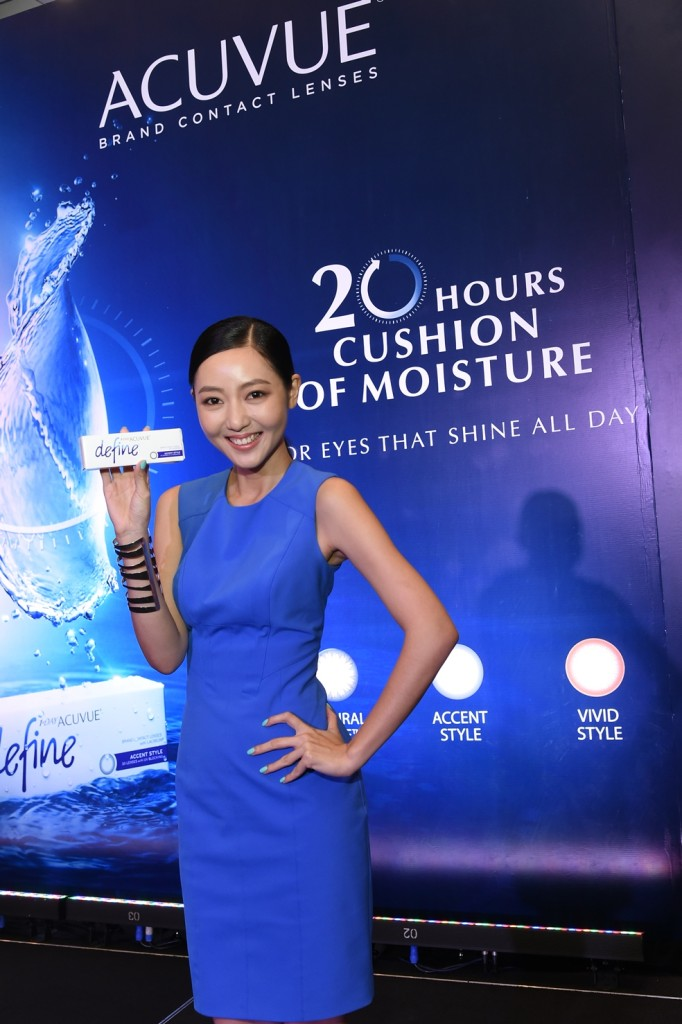 3)JoJo Goh Brand Advocate for 1 Day ACUVUE DEFINE with LACREON