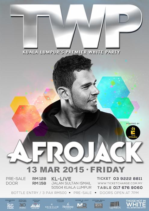 Afrojack TWP Flier