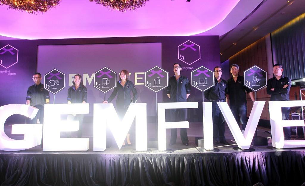 GEMFIVE team, Andrew, Kim, Moey, Kon Sean, Ken, Sean & Jason