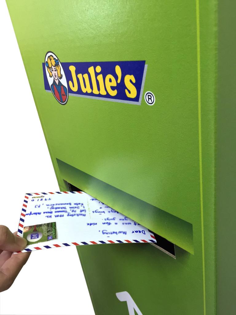 G2 - Mulai dengan mengirim poskad Julie's pada musim ramadhan ini