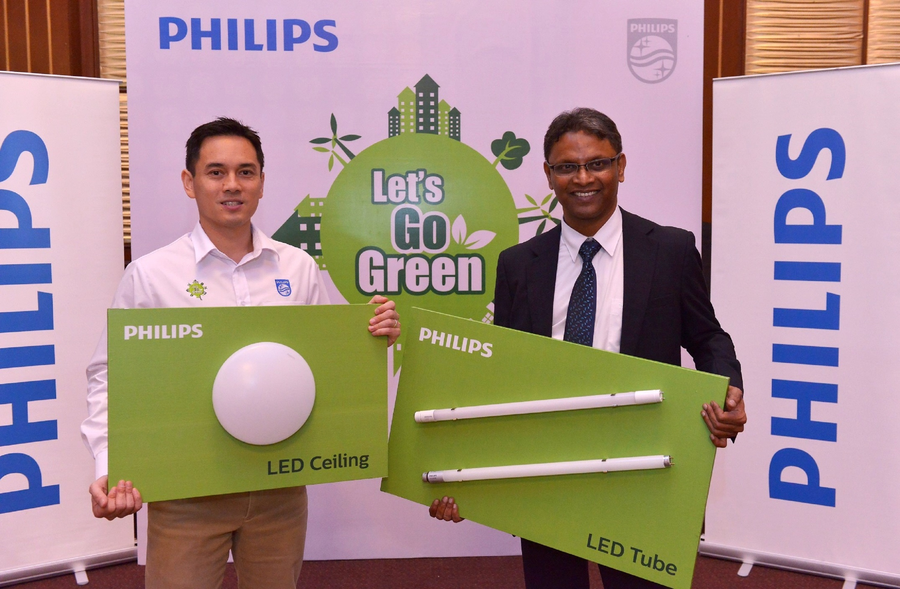 Semasa Painting Our Towns Green With The Philips Let S Go Green Campaign Galaksi Media