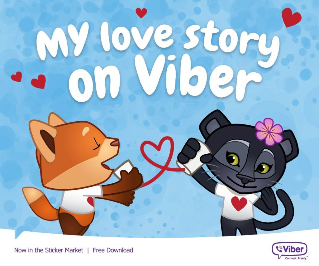 My love story on Viber