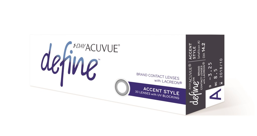 Packshot_1 _ DAY ACUVUE_ DEFINE_ with Lacreon__Accent Style_30pk_Side