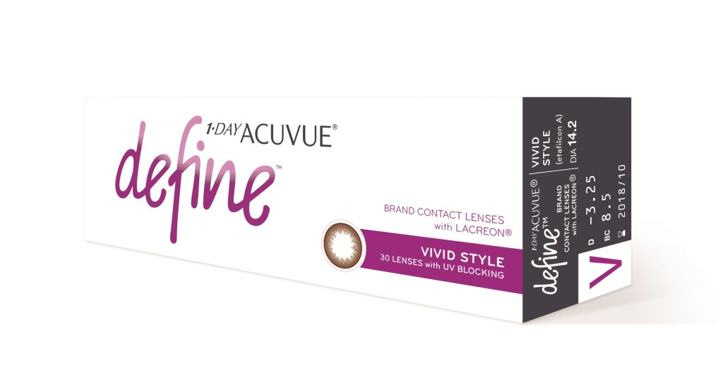 Packshot_1 _ DAY ACUVUE_ DEFINE_ with Lacreon__Vivid Style_30pk_Side