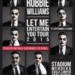 Robbie Williams KL Concert Keyart
