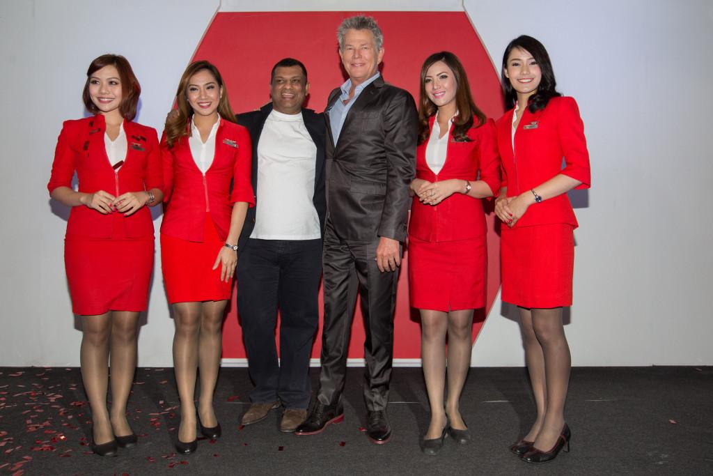 AirAsia x David Foster