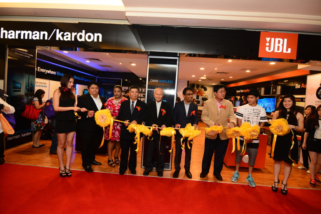 HarmanKardon & JBL Grand Opening_Ribbon Cutting