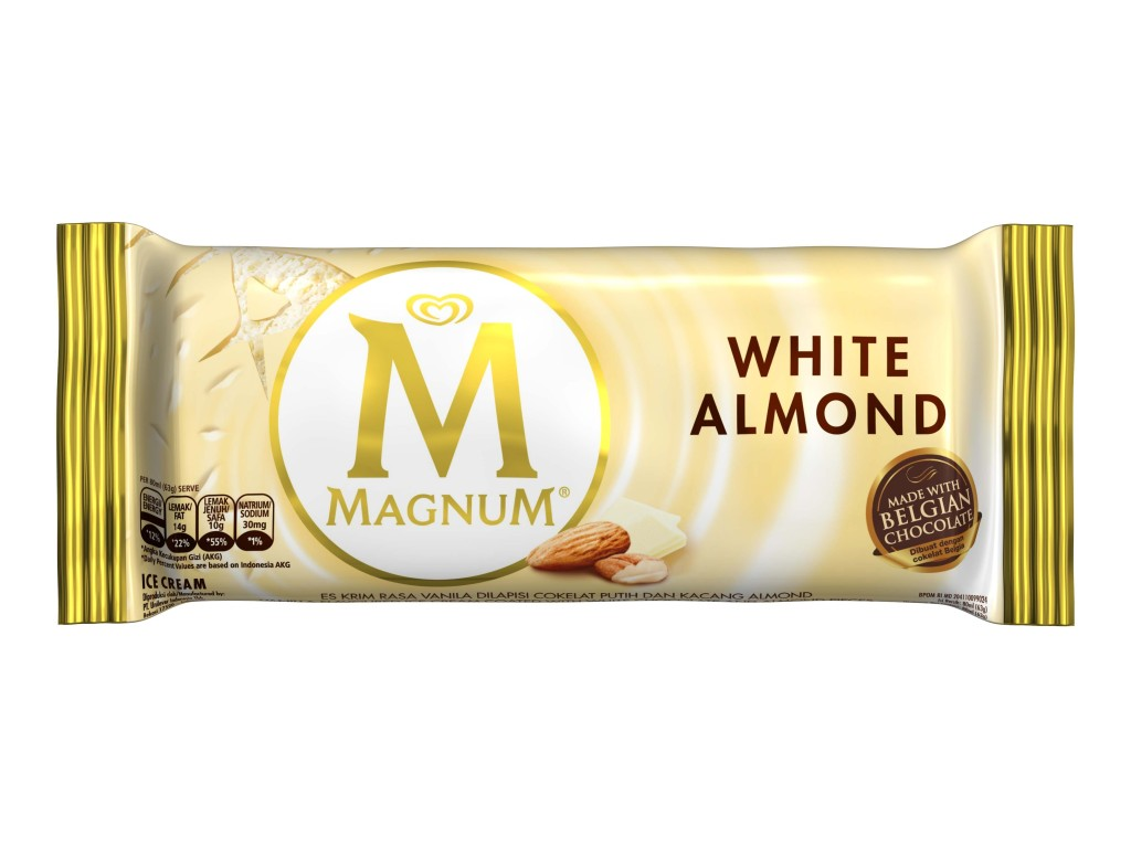 Magnum Wrapper White Almond