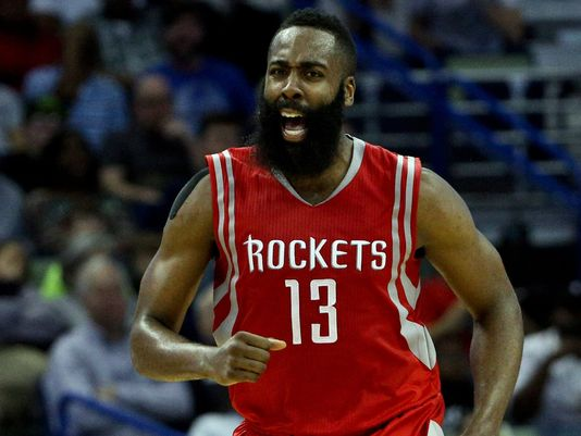 Rockets guard James Harden agreed to a deal with Adidas worth a combined $200 million over 13 years Photo-Derick E. Hingle USA TODAY Sport