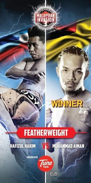 Featherweight Championship bout AIMAN