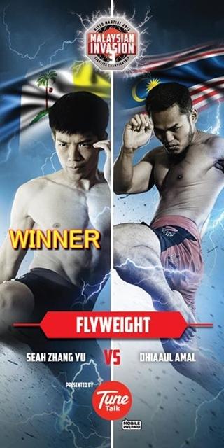 Flyweight title, Seah Zhang Yu
