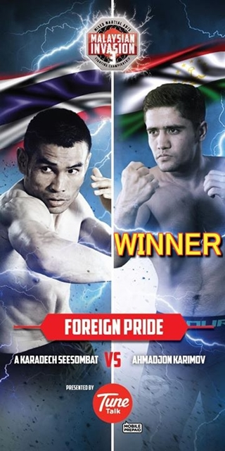 Foreign Pride Champion AHMADjon