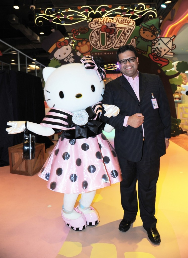 Hello Kitty with Fahruddin