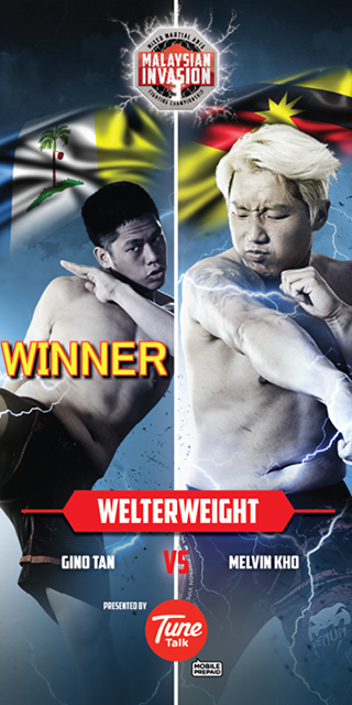 Melvin Kho VS Gino Tan for the MIMMA Welterweight