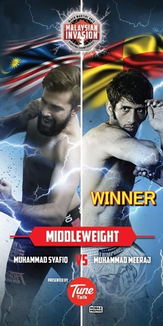 Middleweight Champio MEERAJ omar