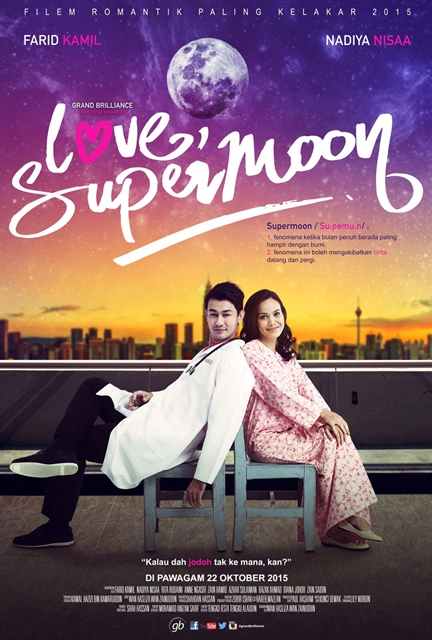 Poster Love Supermoon