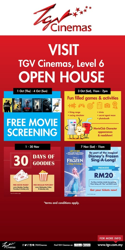 TGV Cinemas SUnway Putra Grand Openingrersize