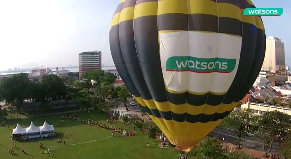 Watsons Hot Air Balloon