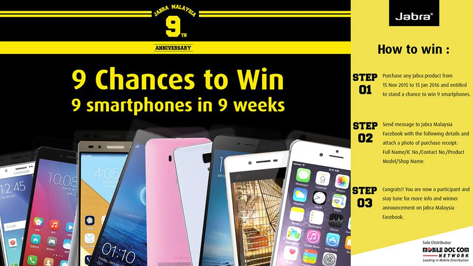 9 Winners 9 Smartphones 9 Weeks
