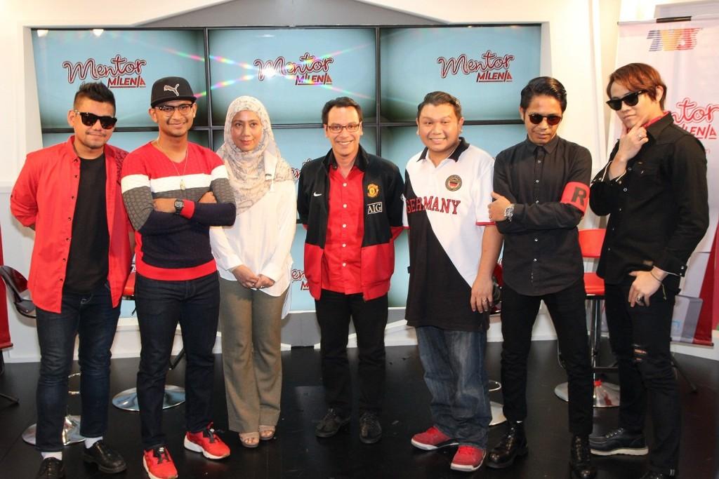 Azlan, Black, Zurina Othman  (Pengurus Besar, Kumpulan Pengurusan Jenama & Rancangan TV3 & TV9), Muhamad  Sufian Isa, Ahmad Saifullizam Arshad, Hazama & Akim