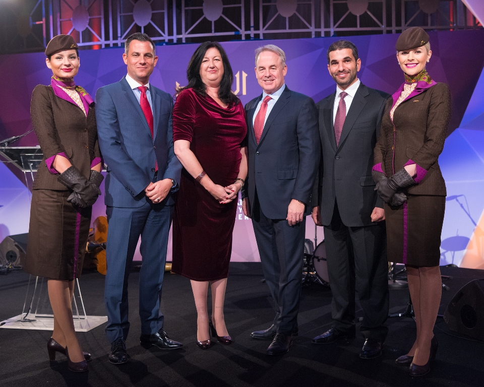 Etihad Airways named ATW Airline of the Year 2016_