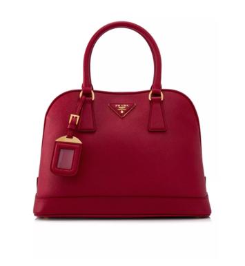 Prada Saffiano Lux Handbag _1