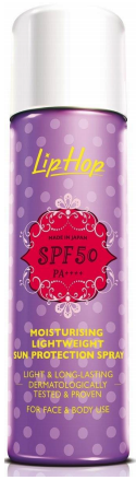 a Moisturising Lightweight Sun Protection Spray SPF50