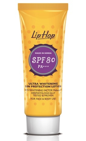 c Ultra Whitening Sun Protection Lotion SPF80