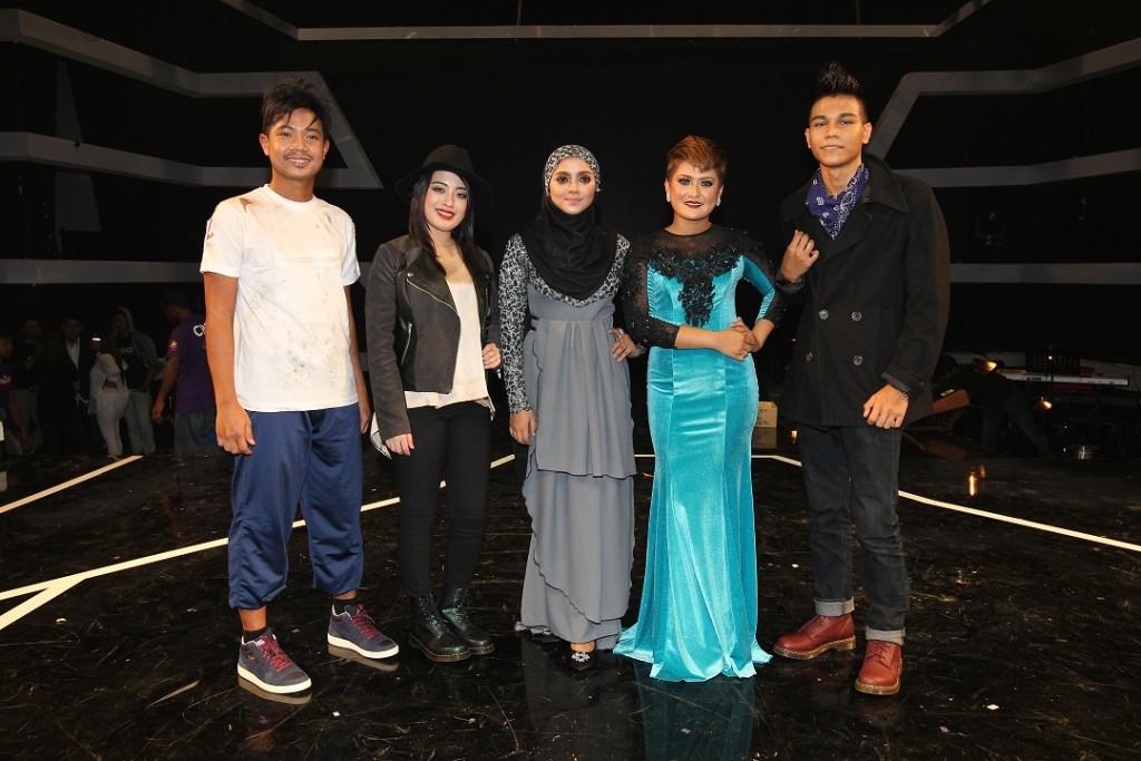 Qody, Zetty, Ebba, Wanie & Fareez bakal bersaing di Separuh Akhir Mentor Milenia