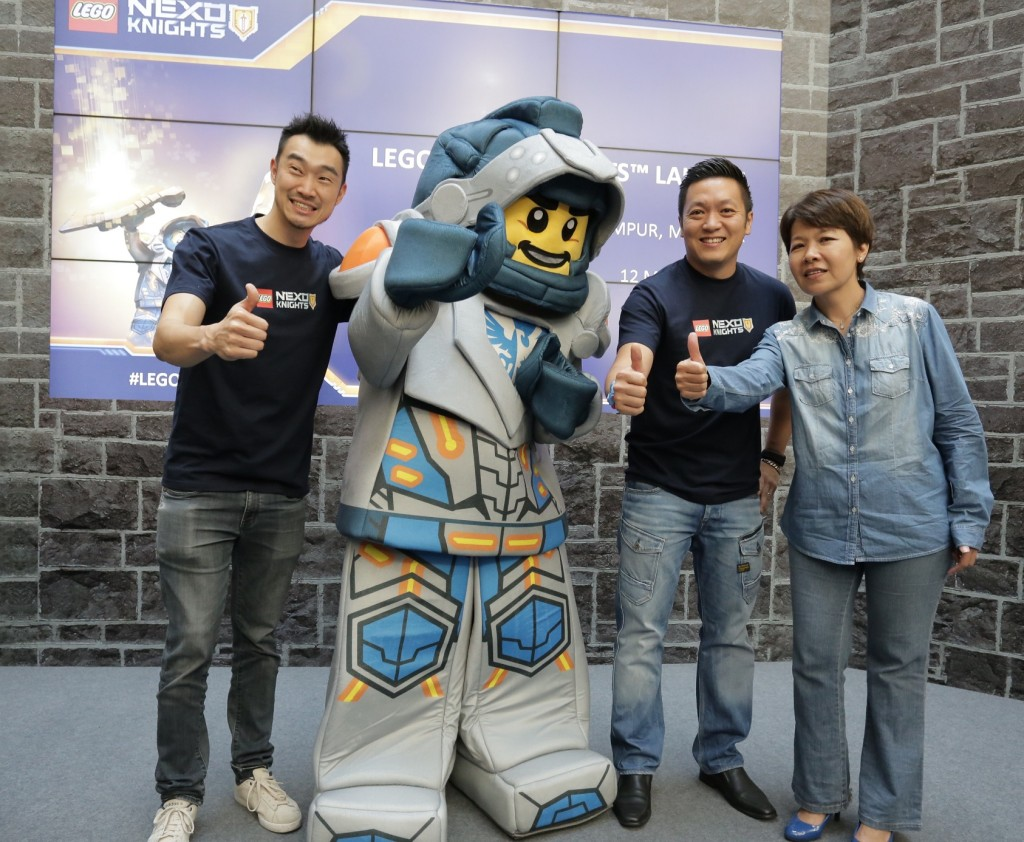 Image 3 - (L to R) - Kevin Hagino, Sr. Regional Brand Manager, LEGO_ Clay_ Dick Yoong, Country Manager, LEGO Malaysia and Carol Chuo, Country Manager, Toys R Us Msia