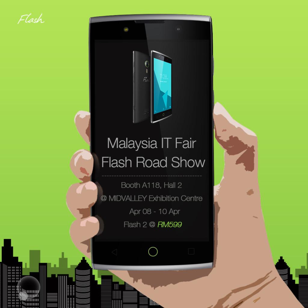 Malaysia IT Fair Flash Road Show 2