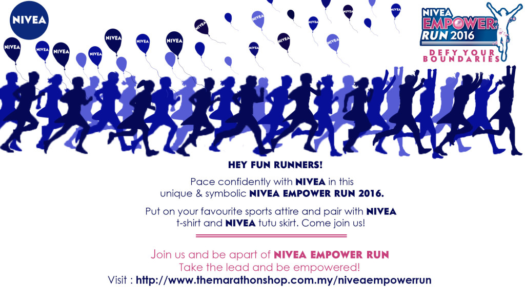 NIVEA EMPOWER RUNS INVITATIONS