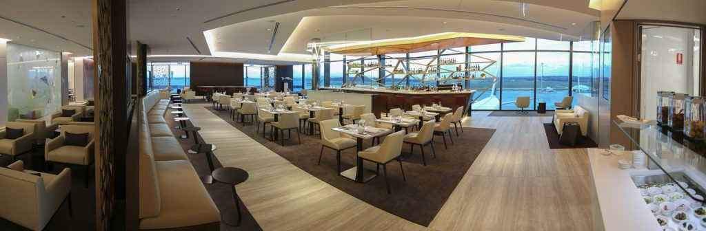 Etihad Airways new Premium Lounge at Melbourne Airport