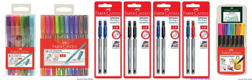 Faber-Castell CX Colour ballpens, box of 6&10 copy-horz