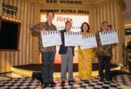 From Left, Mr H.C. Chan, Tan Sri Razman M. Hashim, Puan Sri Latiffah and Mr Kevin Tan